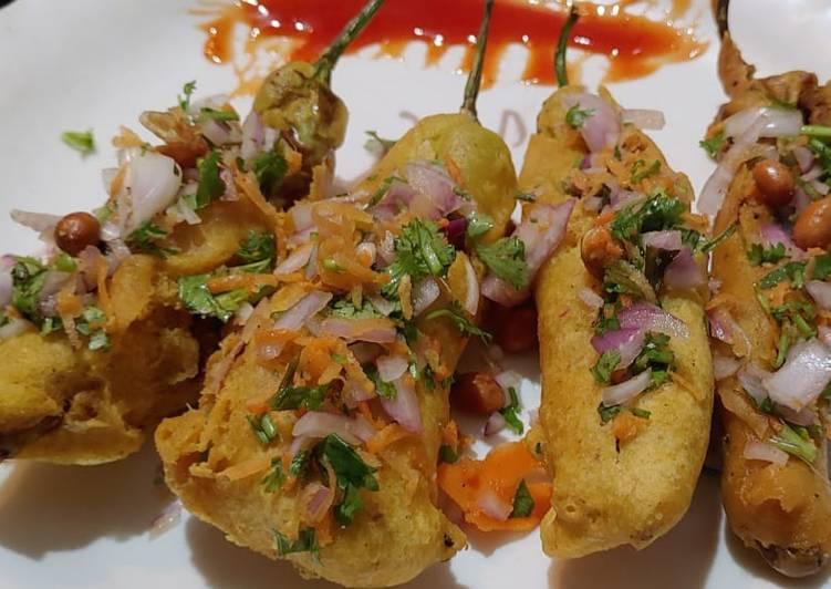 Simple Way to Prepare Top-Rated Mirchi Bajji