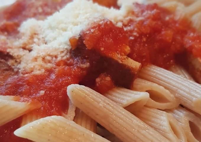 Schritte Um Jamie Oliver Tofu Bolognese zuzubereiten