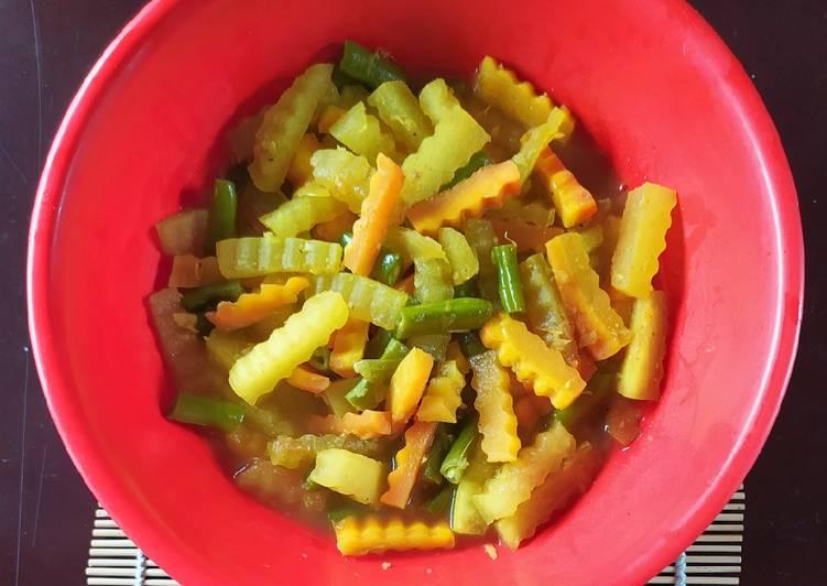 Acar Kuning Kulit Semangka #156 - cookandrecipe.com