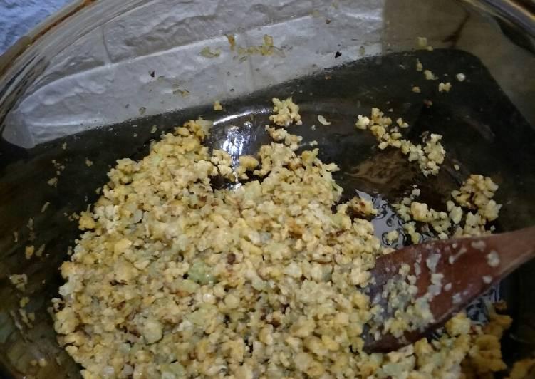 Resep Nasi goreng no carbo dari kembang kol (healing food anak autis) Favorit