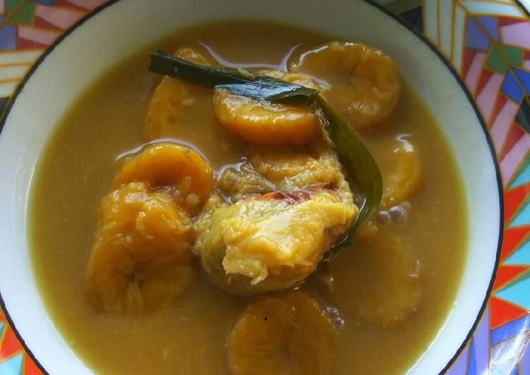 Kolak durian pisang