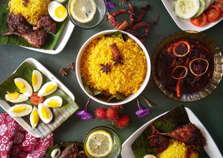 Nasi Kuning Sambal Merah Ikan Tongkol. #Phopbylinimohd #batch17