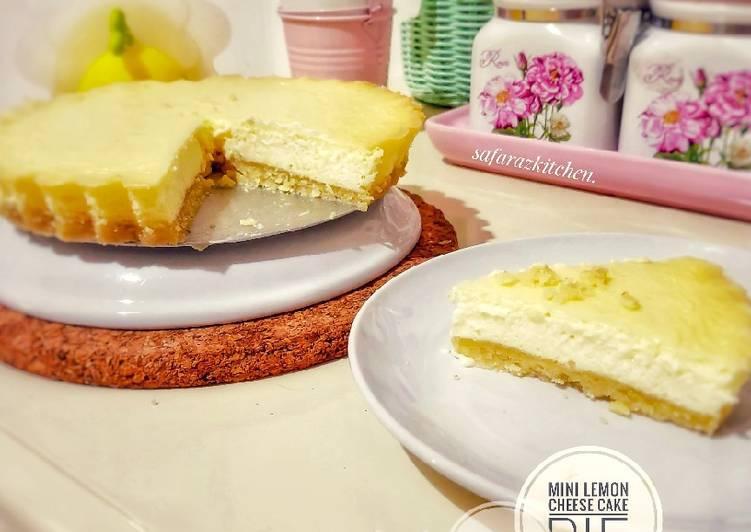 Resep Keto Mini Lemon Cheese Cake Pie ~ creamy, ngeju, simpel banget Bikin Laper
