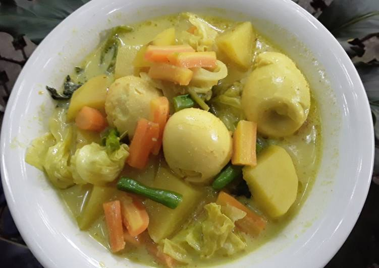 Resep Sayur Kari Yang Simple Pasti Lezat