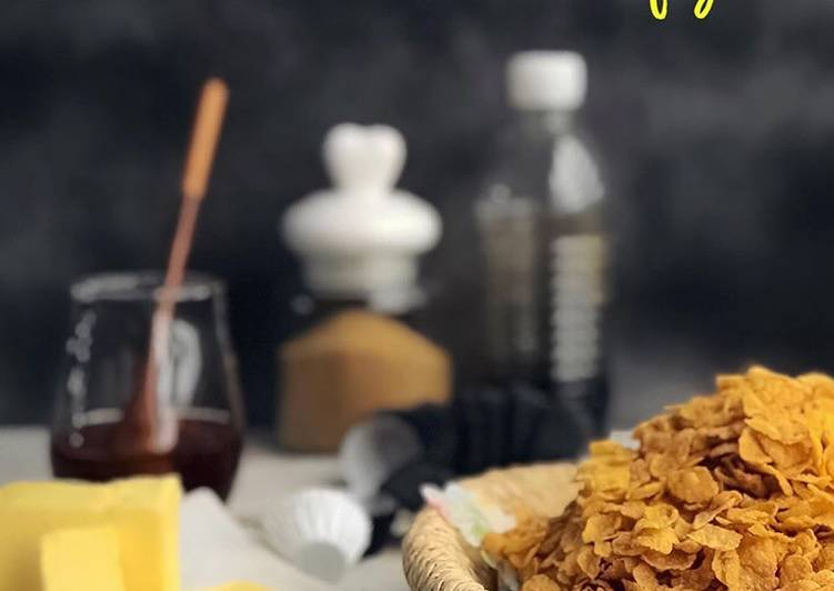 Resepi:  Cornflake Madu Air Fryer  2021