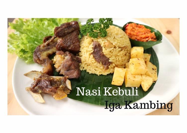 Eps.9 Nasi Kebuli Iga Kambing Pakai Rice Cooker