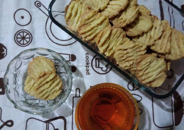 Resep Coconut cookies #prRamadan_kukirainikukis, Enak