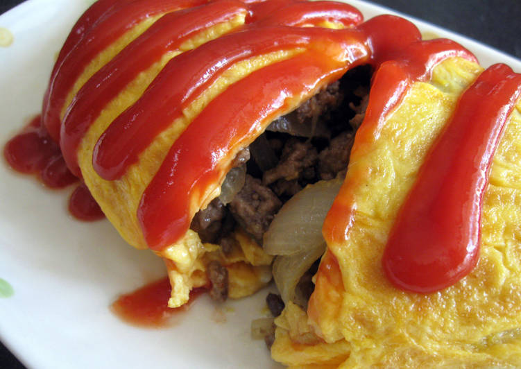 Beef Mince & Mushroom Omelette