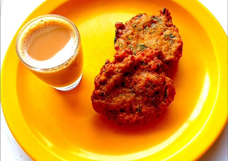 Curry vadai Mutton vada (teatime snack)