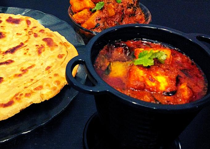 Recipe of Heston Blumenthal Paneer Methi Aloo Curry