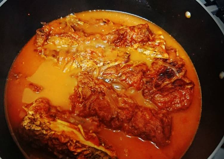 Step-by-Step Guide to Make Any-night-of-the-week Nile Perch(Mbuta) stew