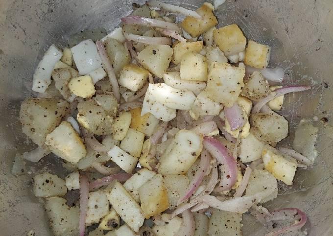 Paneer Potato Salad