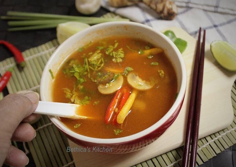 My Favorite Tom Yum Soup
