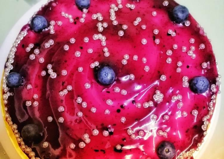 Kek Keju Blueberries Special