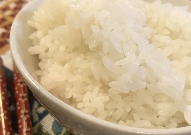 Steps to Make Ultimate How to Cook Japanese Rice