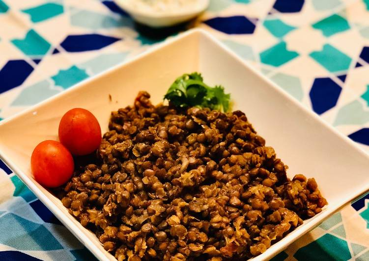 Recipe of Perfect Cumin lentils