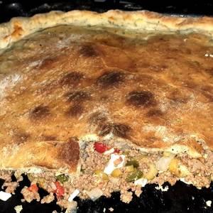Relleno 2 para pan de pizza saborizado con orégano