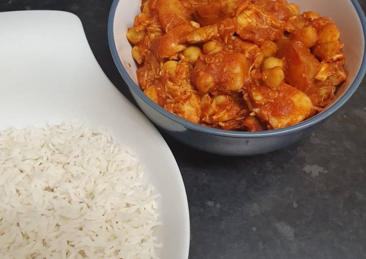 Smokey chicken and rice