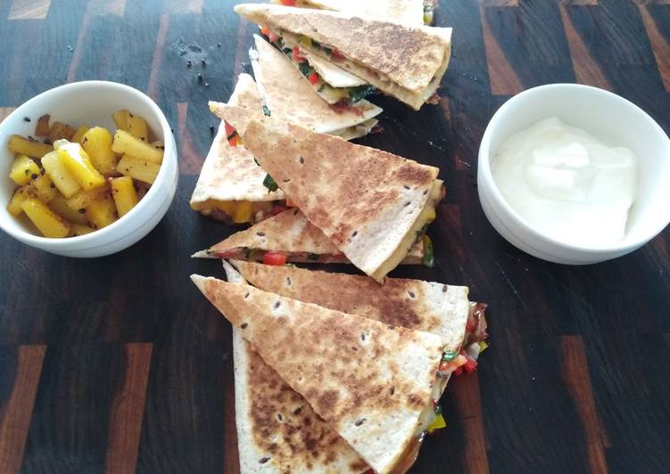 Step-by-Step Guide to Prepare Favorite Quesadillas (two versions)