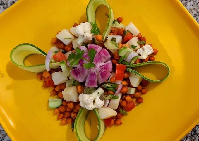 Blackgram-Potato Salad