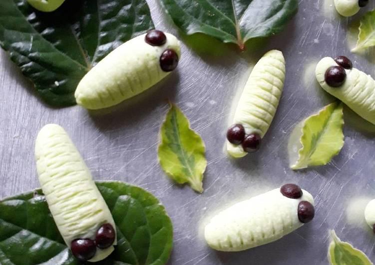 Caterpillar Cookies (Kue Ulat) 🐛