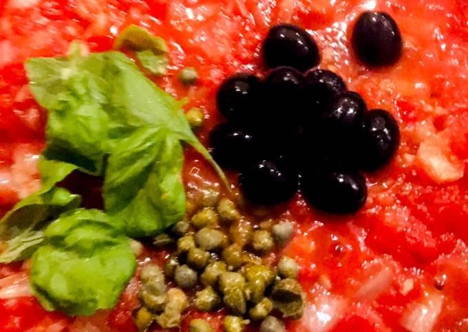Vegan store cupboard pizza and pasta sauce 🌱🌶