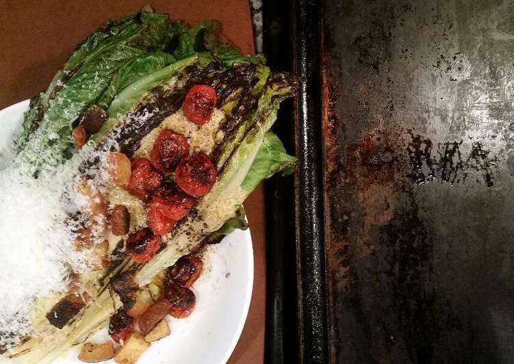 Step-by-Step Guide to Make Award-winning Seared Caesar Salad