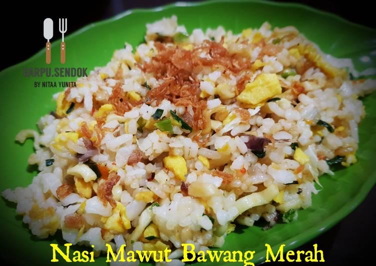 50. Nasi Mawut Bawang Merah