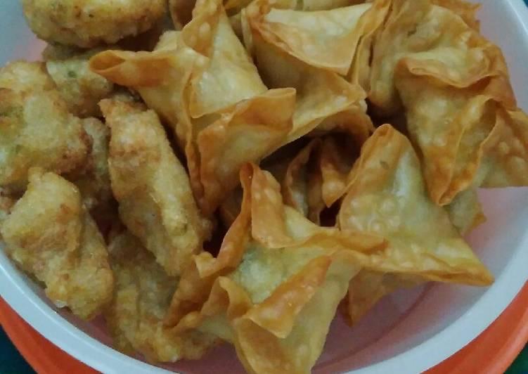 Batagor hemat tanpa ikan dan ayam