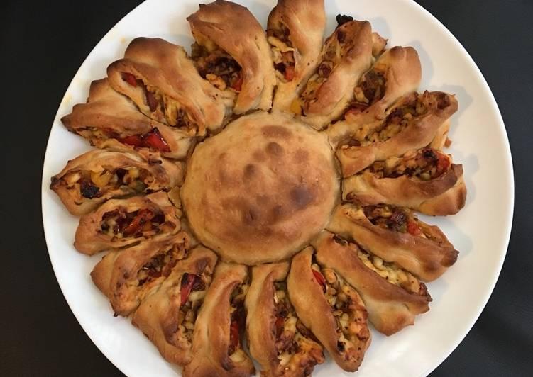 Recipe: Delicious Sunflower Pizza