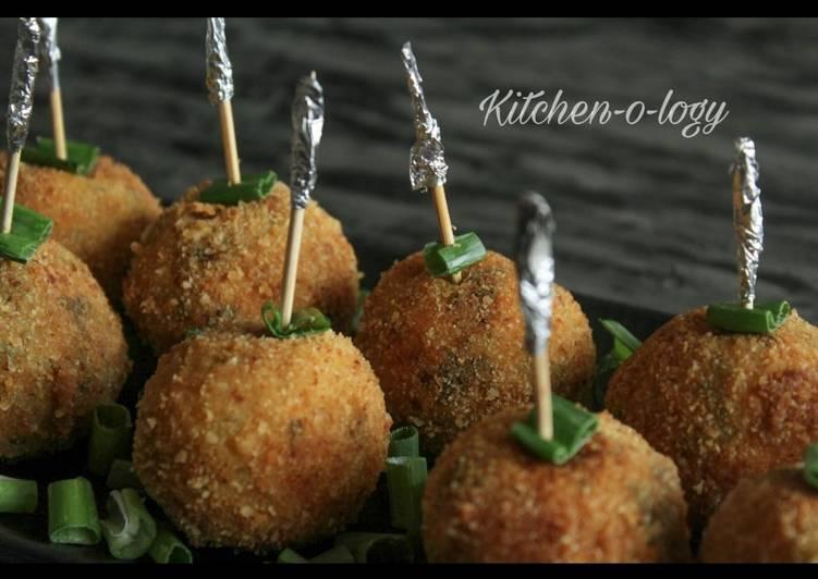 Chicken Cheese Balls 🍗🧀🍢