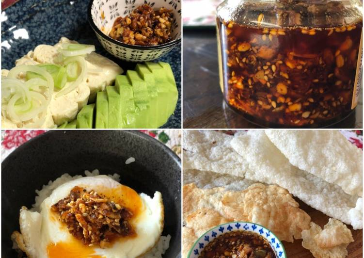 Easiest Way to Prepare Any-night-of-the-week Garlic Chilli Oil with Nuts
