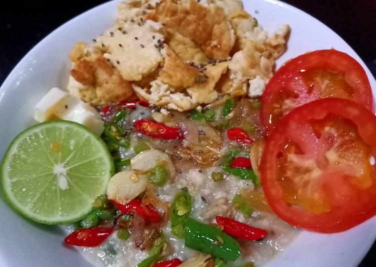 Bubur Oatmeal (diet sehat rendah kalori)