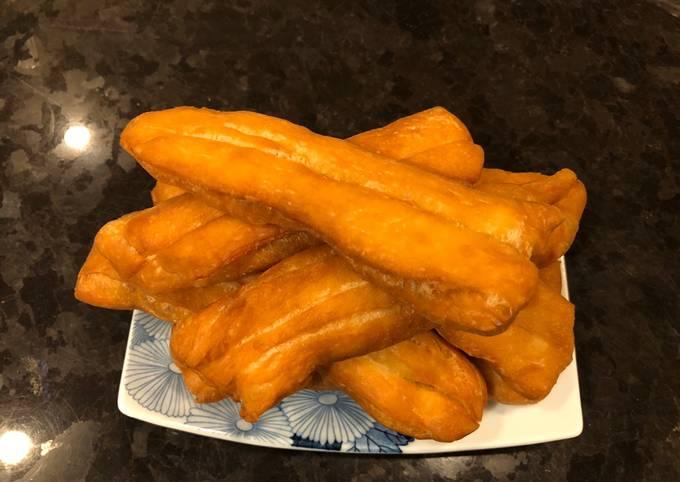 "Deep Fried ""Cakwe"" (Chinese Crullers)"