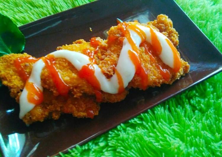 Resep 6. Chicken Katsu ala Jusee gampang