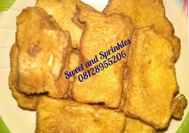 Recipe of Speedy Fried Bread with egg
