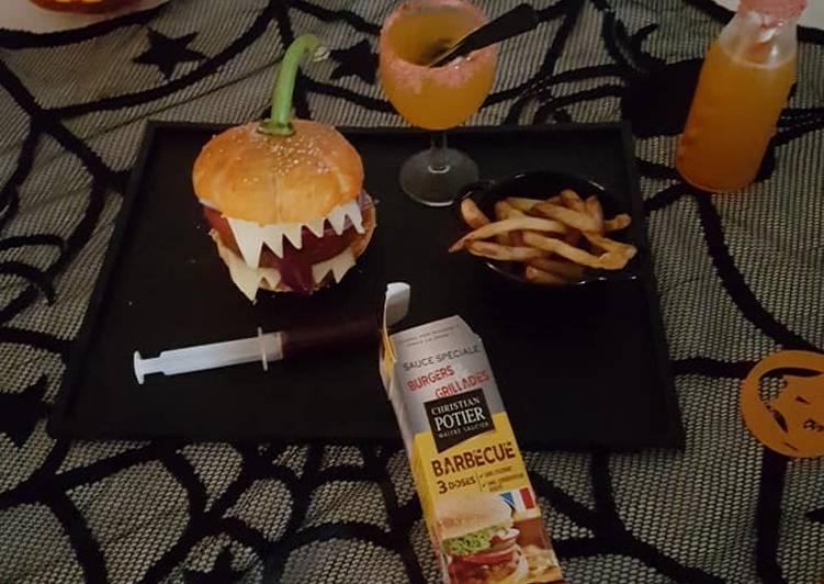 Burger monstrueux