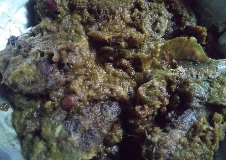 Easiest Way to Prepare Speedy Taro stem with hilsha fish head