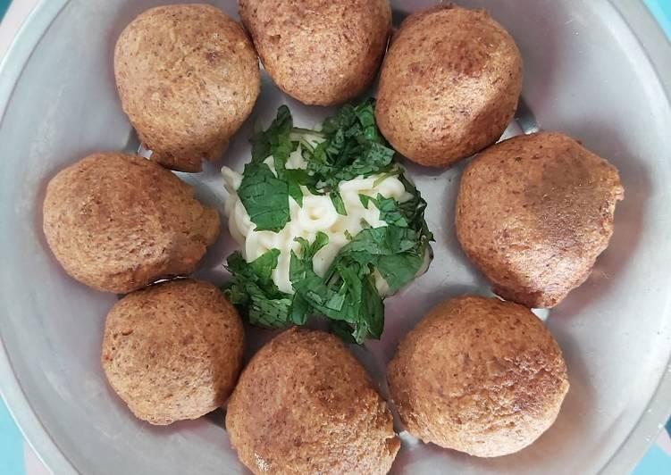 Recipe of Homemade Falafel