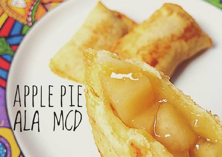 Resep Fried Apple Pie Ala Mcd Oleh Dapur Kebul Cookpad