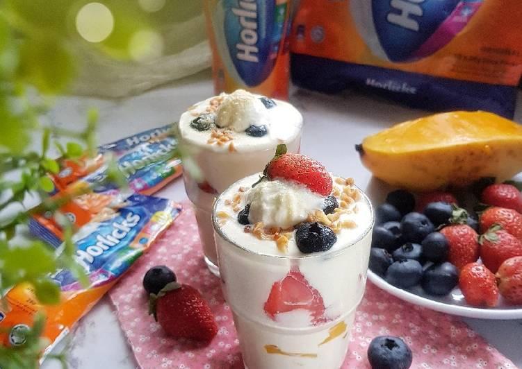 Aiskrim Yogurt Horlicks