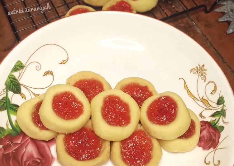 Kue kering selai - cookandrecipe.com
