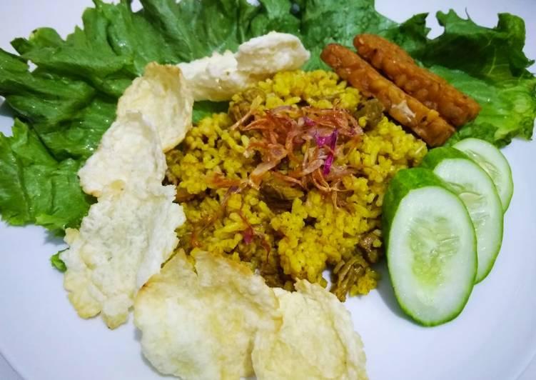 Nasi kebuli rice cooker #rabubaru