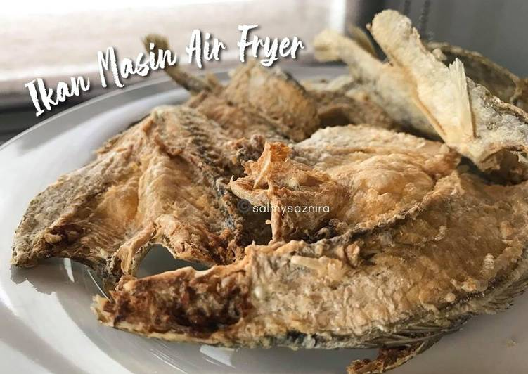 Ikan Masin Air Fryer - resepipouler.com