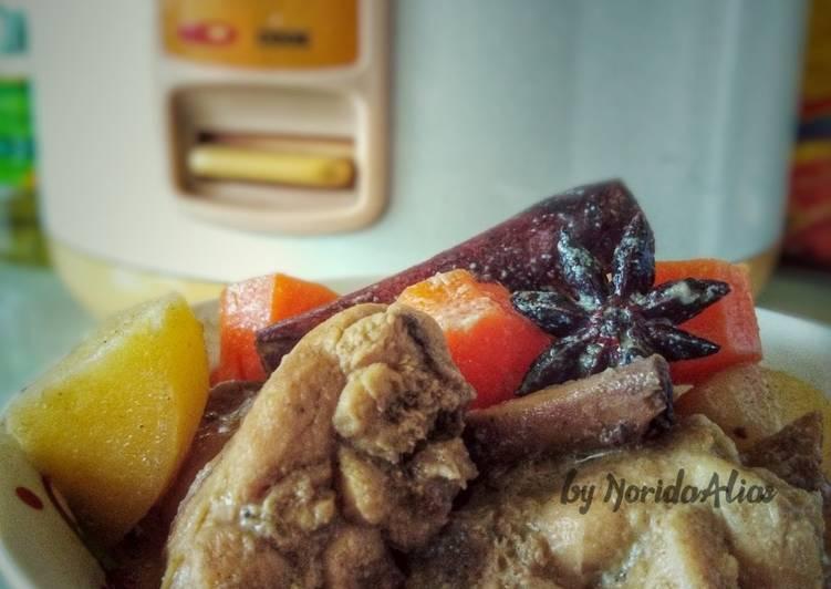 Ayam Masak Kurma SiSulong - resepipouler.com
