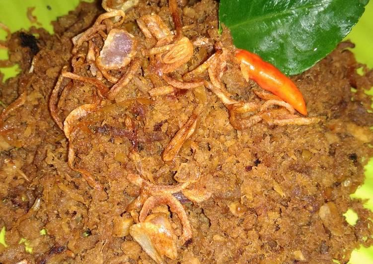 Langkah Mudah untuk Menyiapkan Daging Suwir Manis (Daging Nasi Krawu)  Anti Gagal