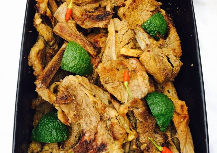 Recipe of Award-winning Pan grilled chuck steak