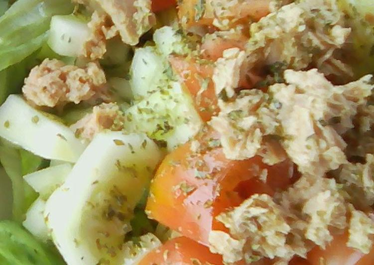 Ricetta Insalatona di pomodori mista alla calabrese -tipo 2 (ricetta lig