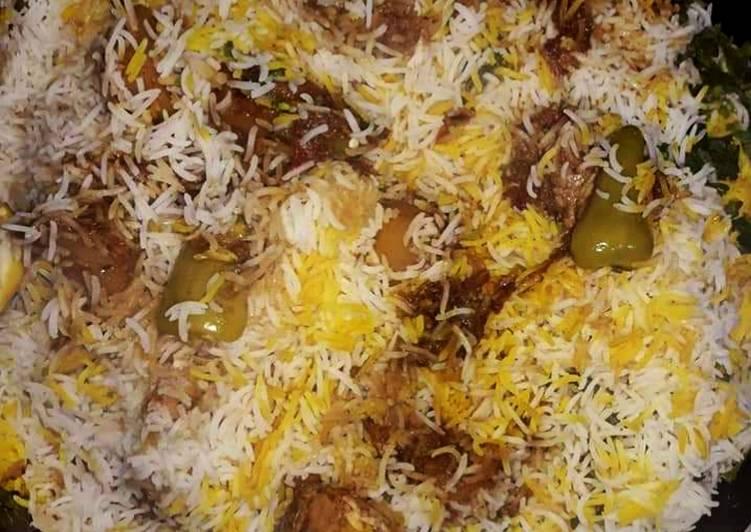Recipe of Award-winning Pakistani Beef Biryani