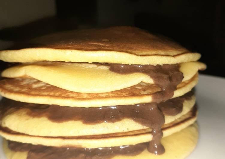 Resep Dorayaki atau pancake simple dan mudah Bikin Laper